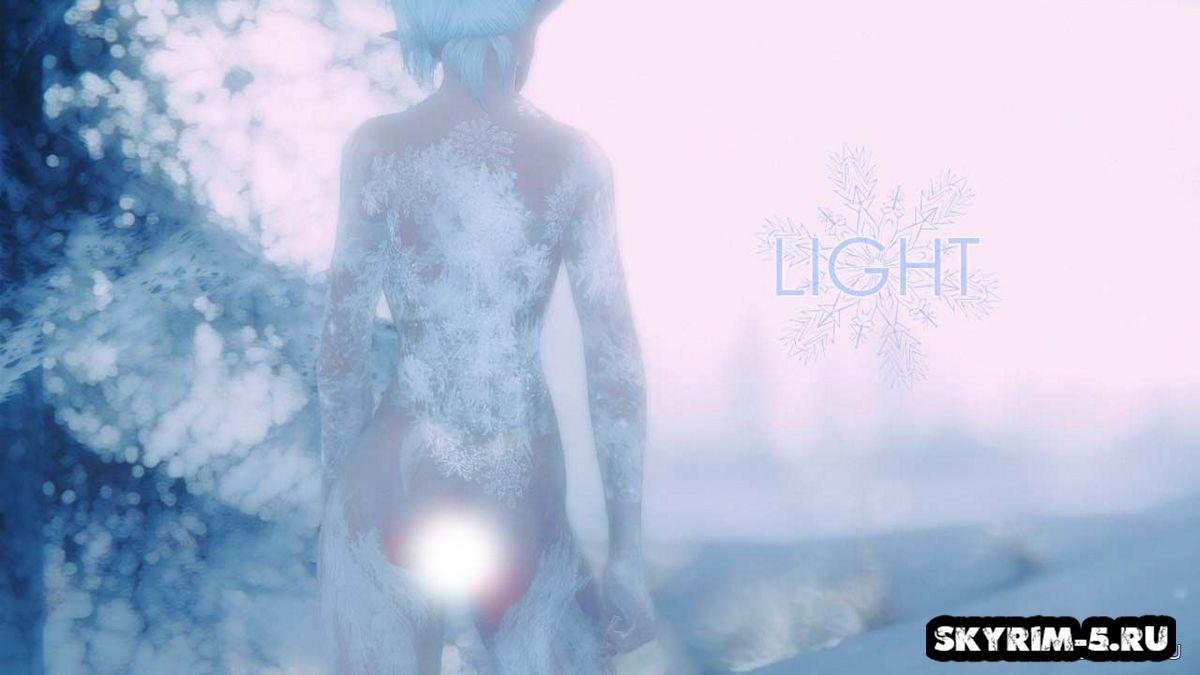 Снежные текстуры для тела - UNP -