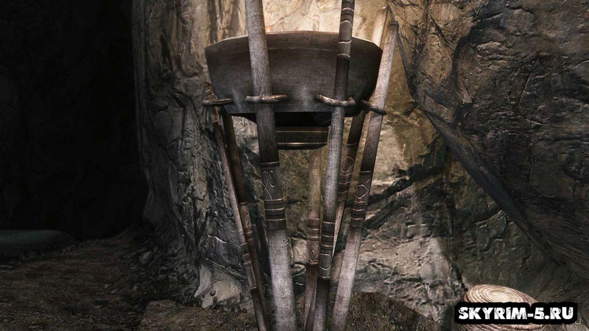 HD лампы в пещере -