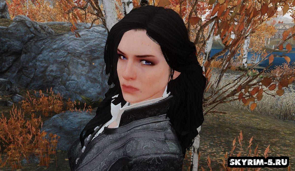 Компаньон Иеннифэр из игры Ведьмак -