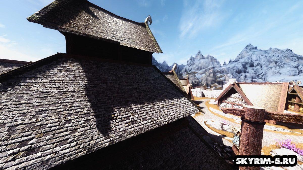 Ретекстур крыш домов в Вайтране