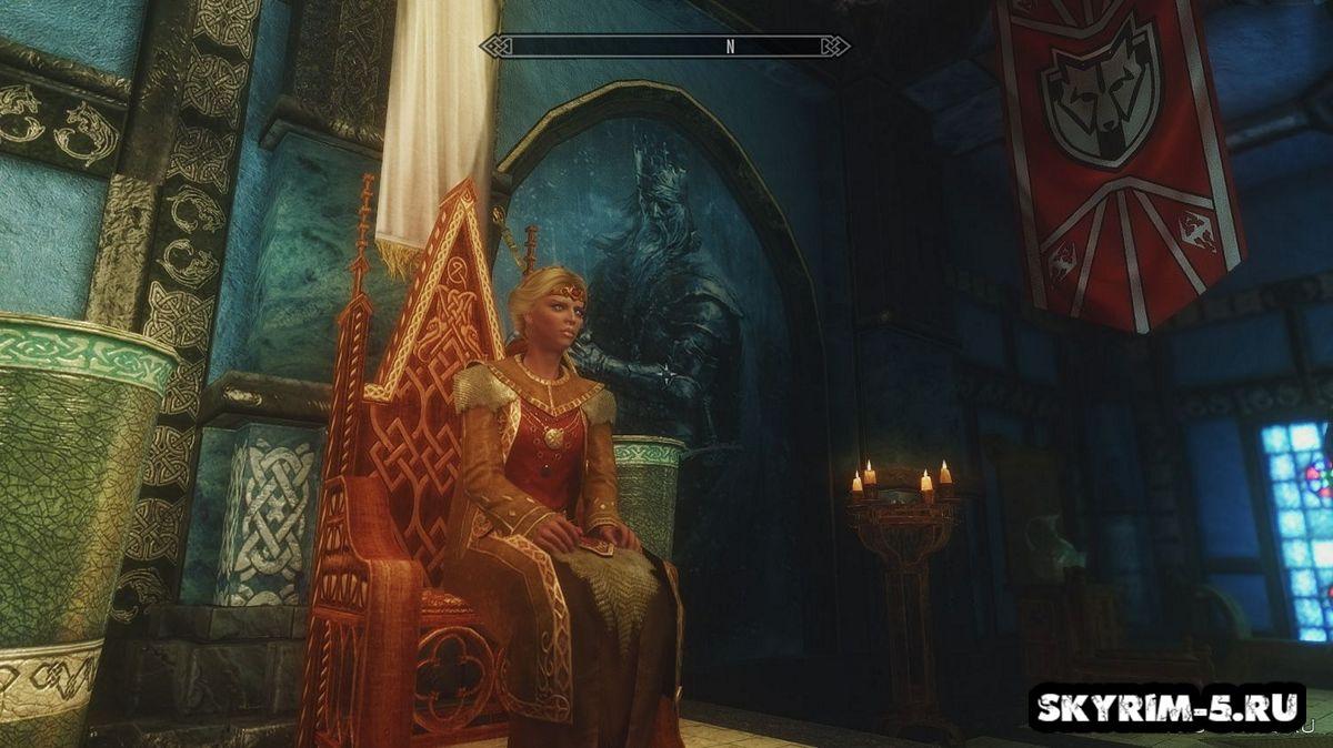 Картины в Синем ДворцеМоды Скайрим > Косметические моды Скайрим