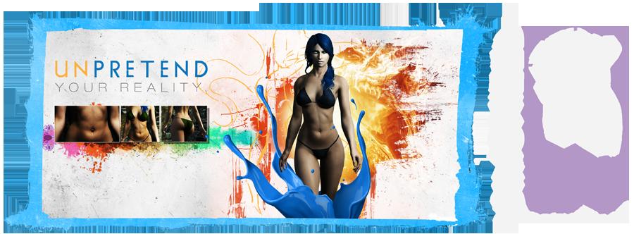 Реплейсер женскиж тел: DIMONIZED UNP female body -