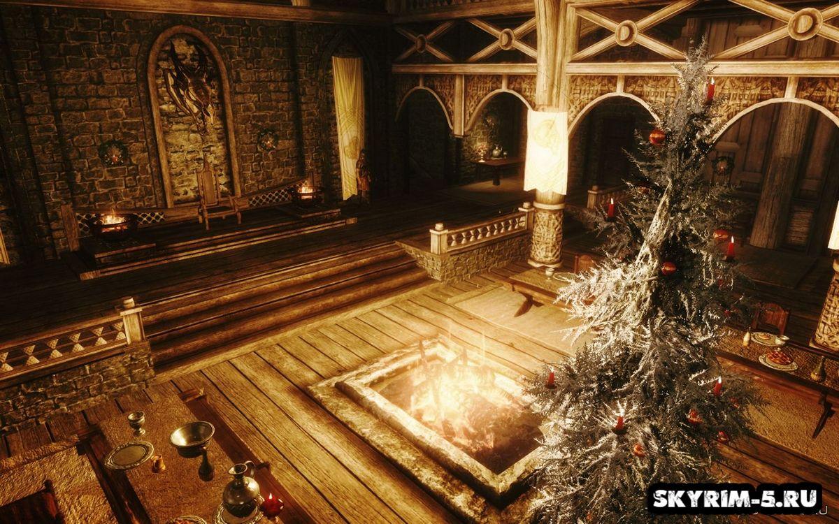 The Elder Scrolls V: Skyrim [Hittcliff] [The New Year's]Моды Скайрим > Сборки Скайрим