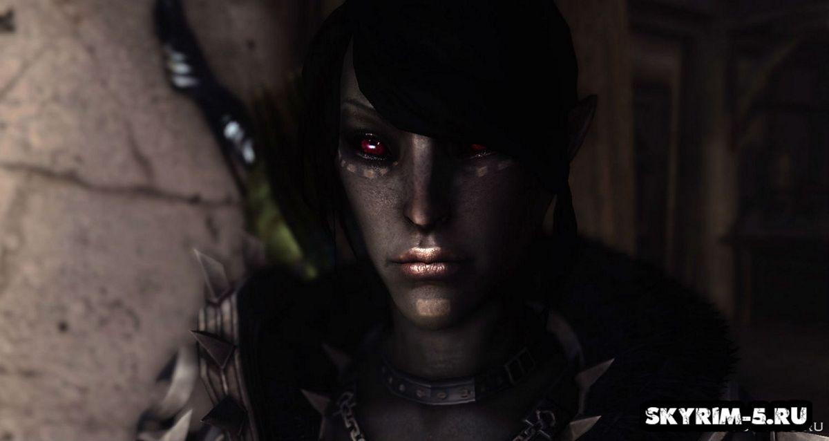 Улучшение эльфов в Skyrim -