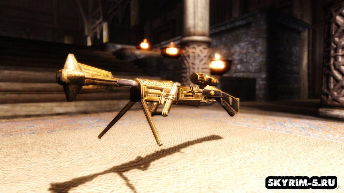 Двемерская снайперская винтовкаМоды Скайрим > Оружие Скайрим