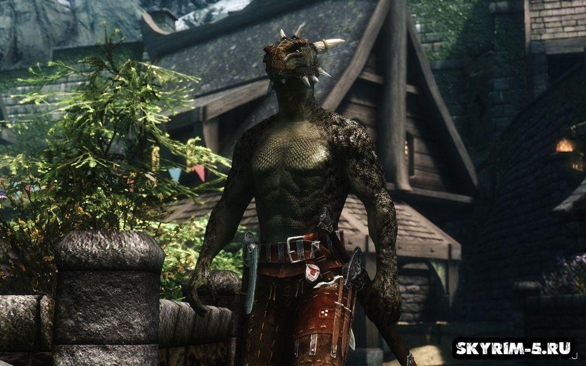 Male Dragonic Argonian -