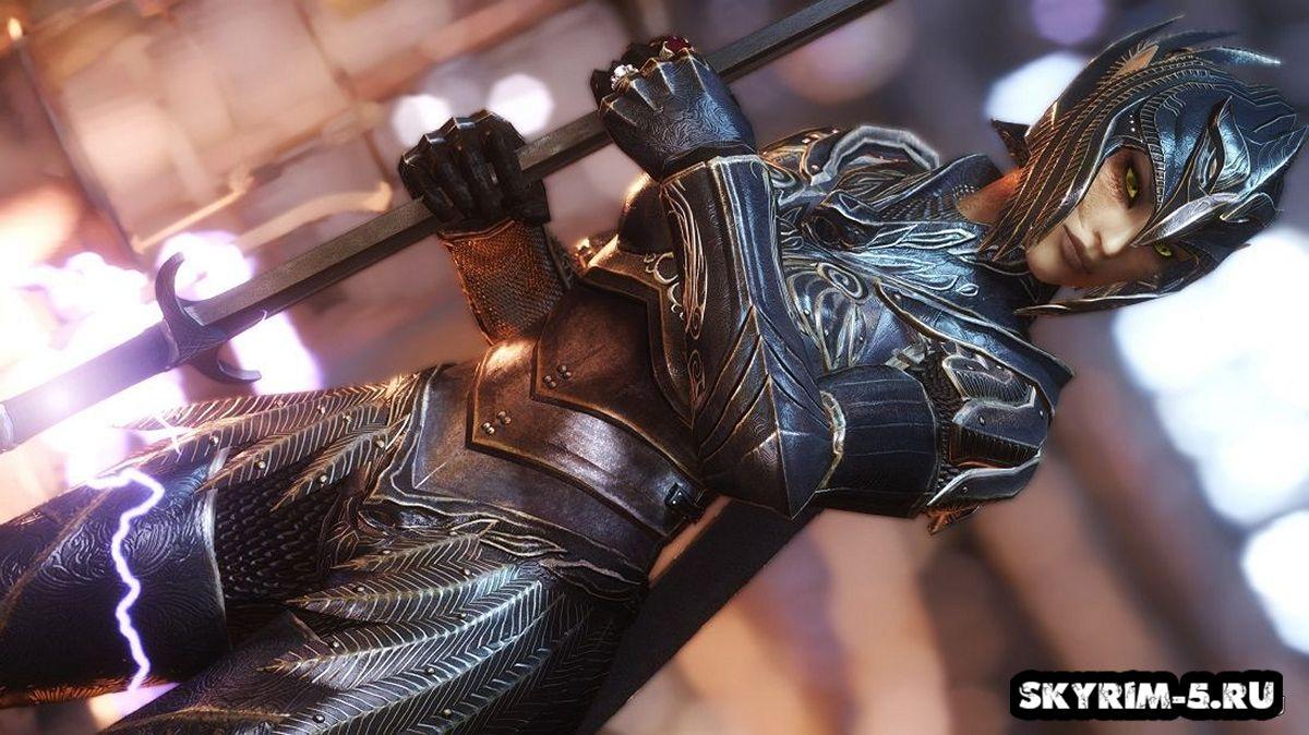 Настоящая легкая эльфийская броняМоды Скайрим > Броня и одежда Скайрим