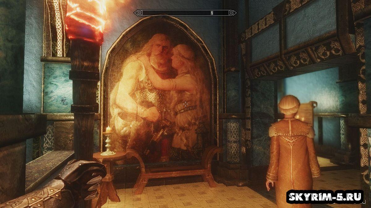 Картины в Синем Дворце -