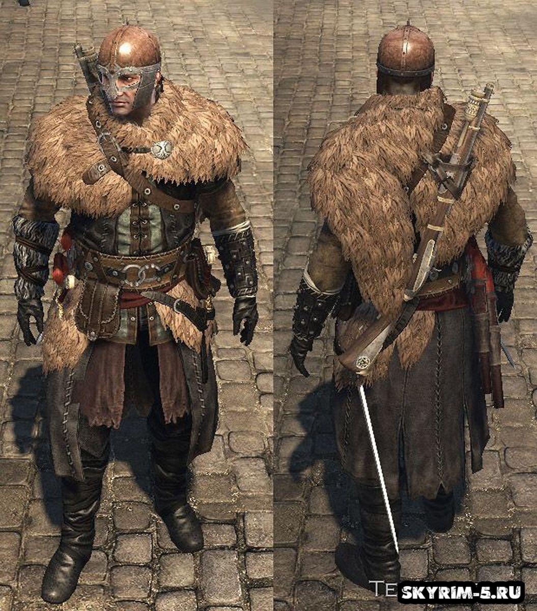 Броня викинга - Assassin's Creed RogueМоды Скайрим > Броня и одежда Скайрим