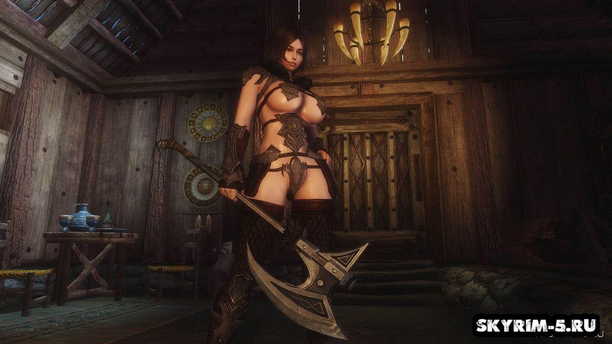 Древняя нордская броня в стиле бикини -