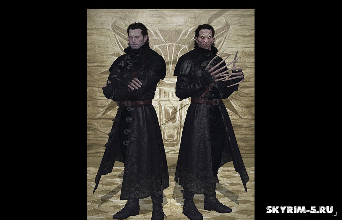 Костюм Детлафа из The Witcher 3Моды Скайрим > Броня и одежда Скайрим