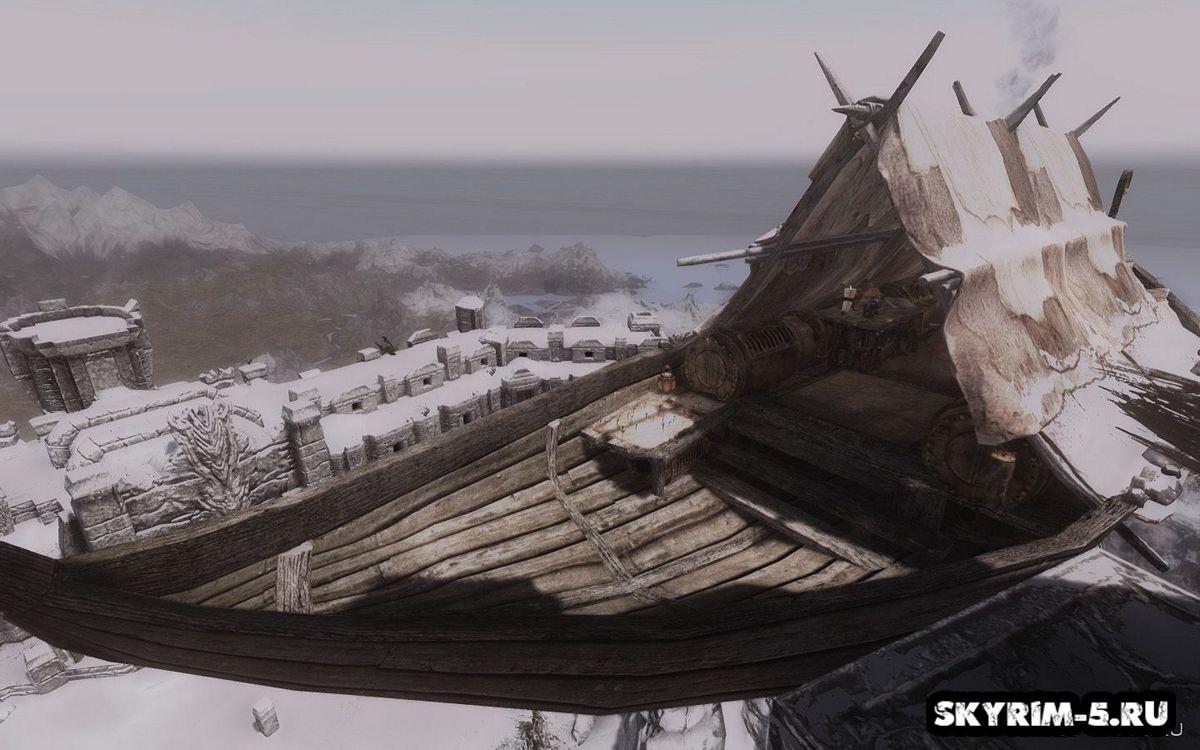 Странник ветра - корабль для путешествий -