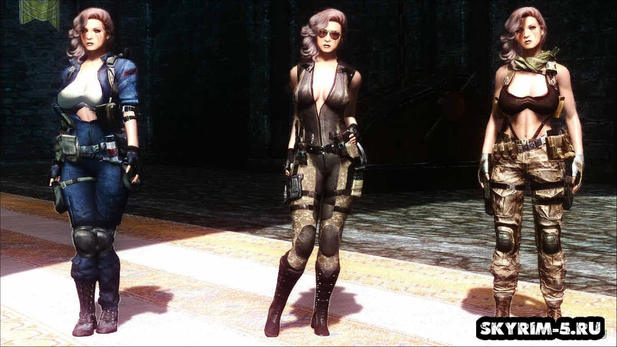 Женская одежда из Sudden attack 2