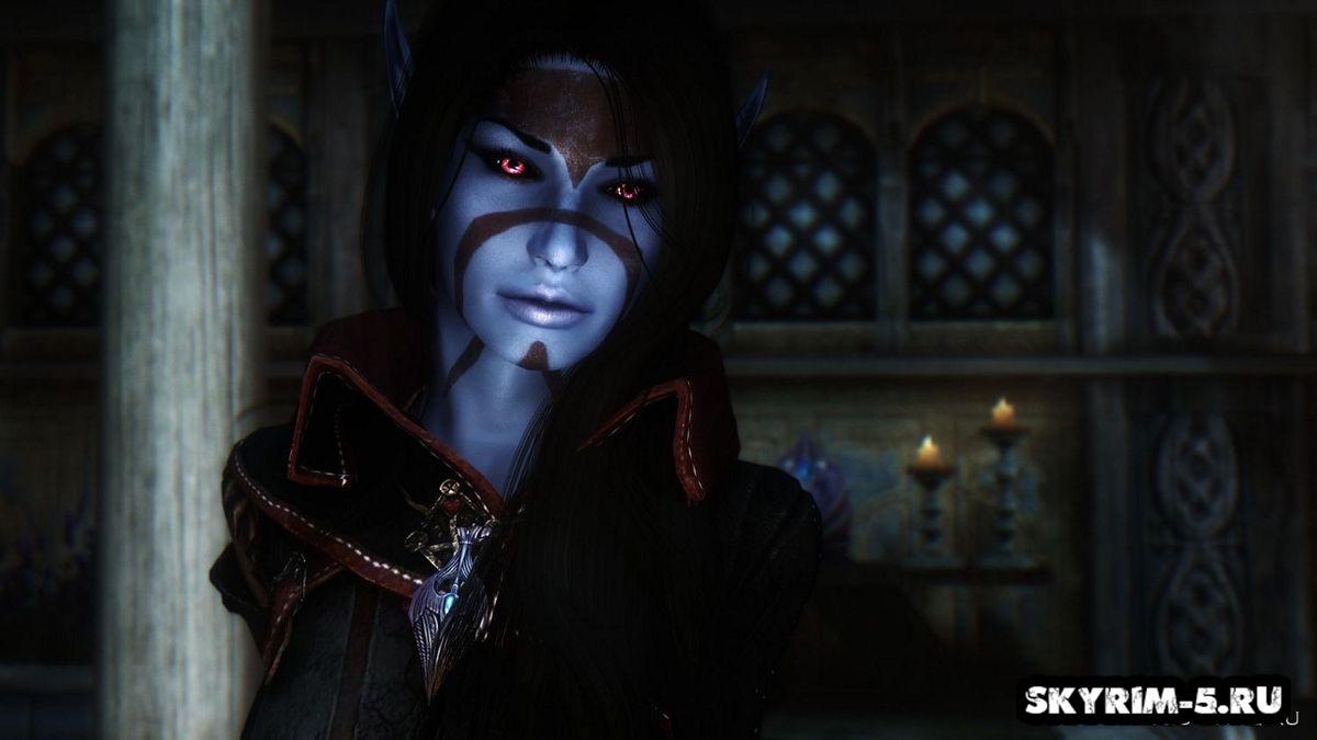 Ксари - Темная эльфийка -