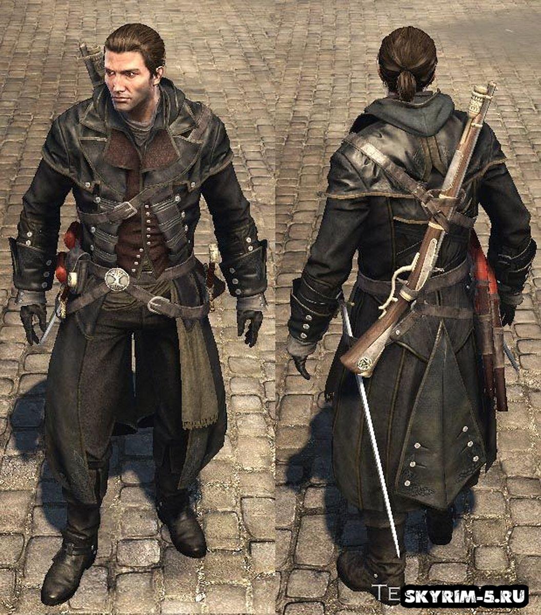 Черная броня АссасинаМоды Скайрим > Броня и одежда Скайрим