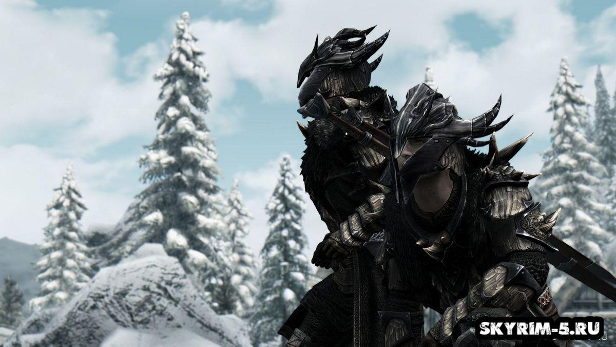Драконья броня ветеранаМоды Скайрим > Броня и одежда Скайрим