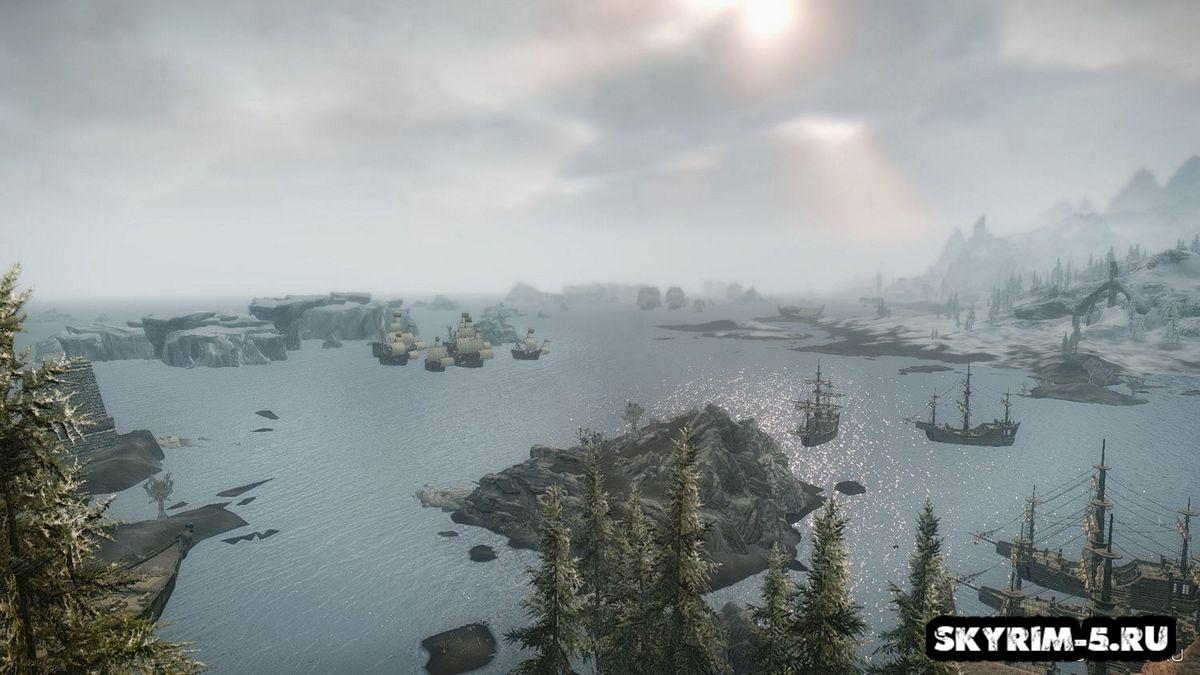 Флот и порты Скайрима
