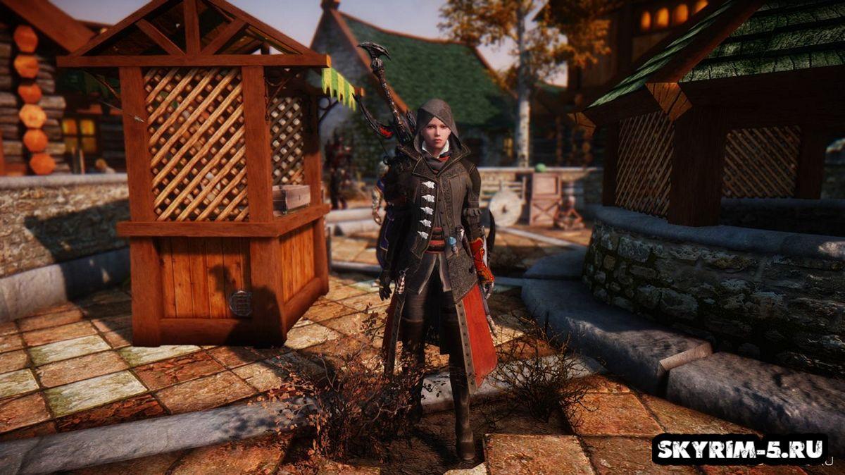 Простое одеяние Иви из Assassin's Creed Syndicate -
