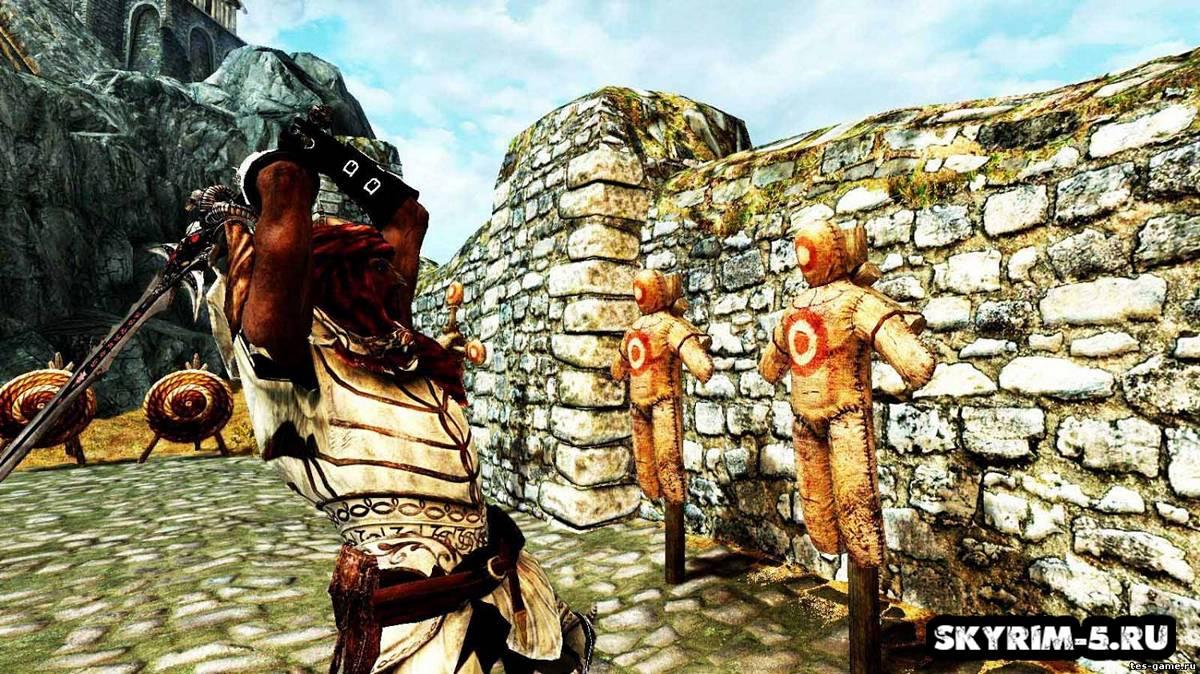 Прокачка навыков на манекенеМоды Скайрим > Геймплей Скайрим