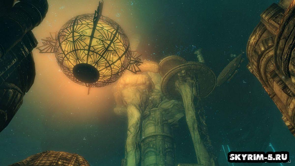 Странник ветра - корабль для путешествийМоды Скайрим > Геймплей Скайрим