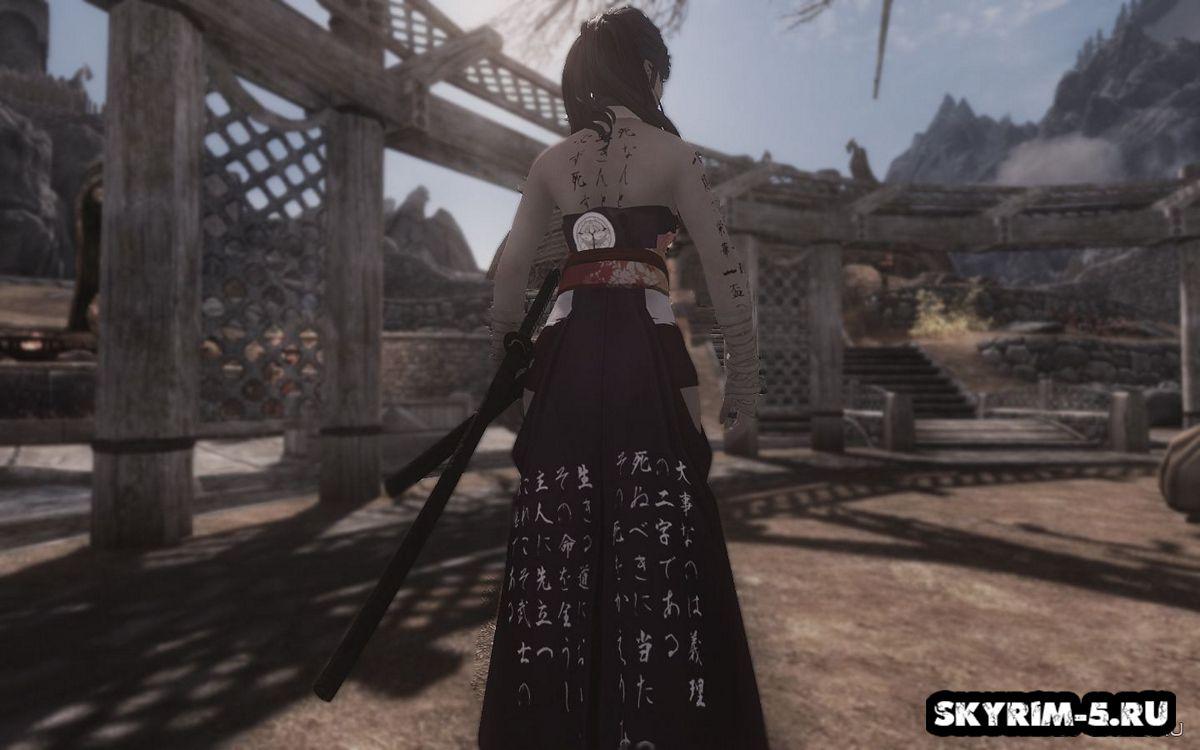 Фую - спутница-самурай -