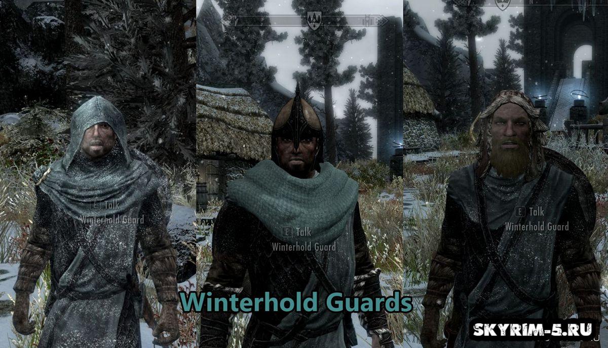 Обмундирование стражников -