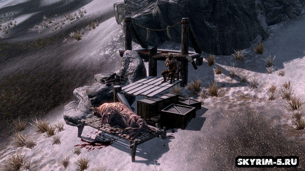 Лагеря охотниковМоды Скайрим > Дома и локации Скайрим