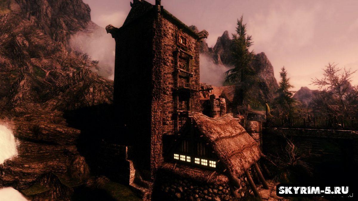 Левая рука разбойникаМоды Скайрим > Дома и локации Скайрим