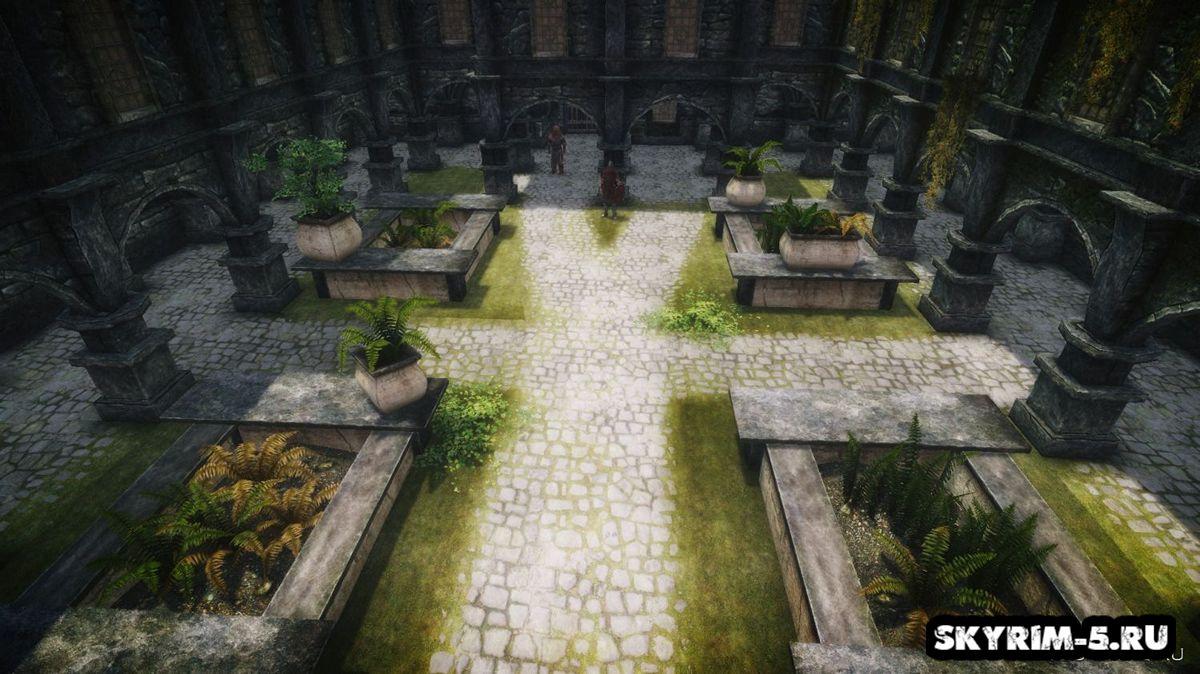 Внутренний двор для Синего Дворца -