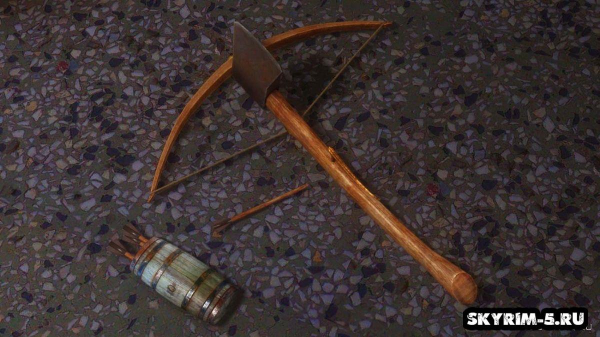 Деревянный арбалетМоды Скайрим > Оружие Скайрим