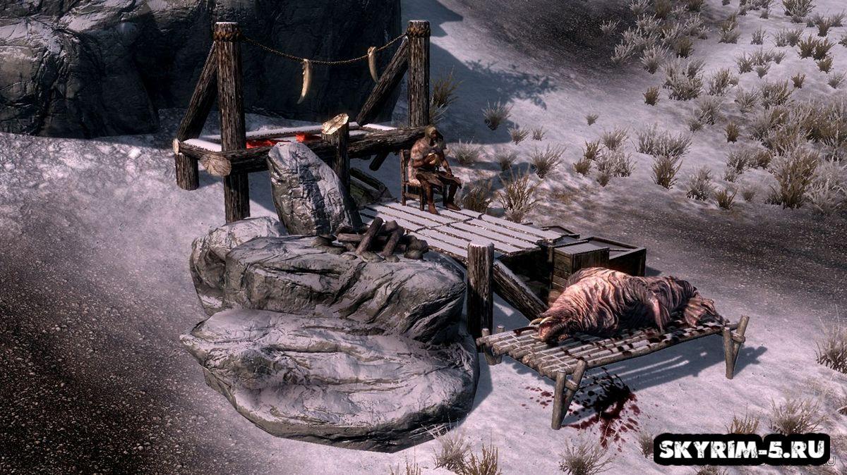 Лагеря охотников -