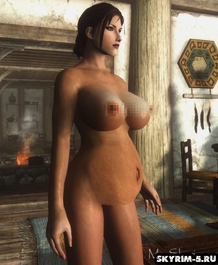 Мод, позволяющий забеременеть в игре: Hentai SexLab pregnancy in Skyrim -