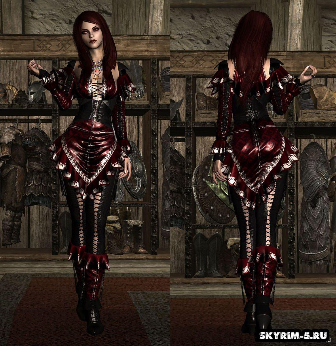 Одеяние мистической ВолшебницыМоды Скайрим > Броня и одежда Скайрим