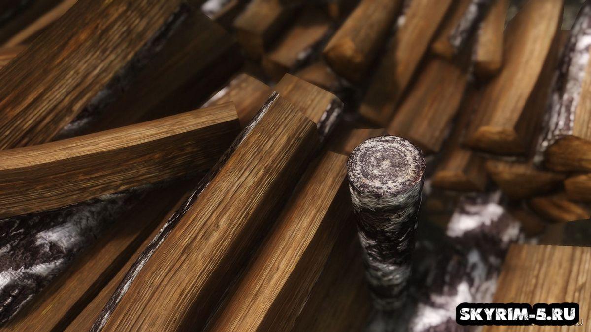 HD натуральные дрова