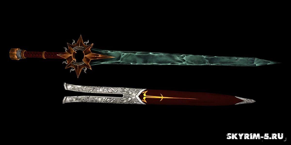 Кристаллический Меч СолнцаМоды Скайрим > Оружие Скайрим