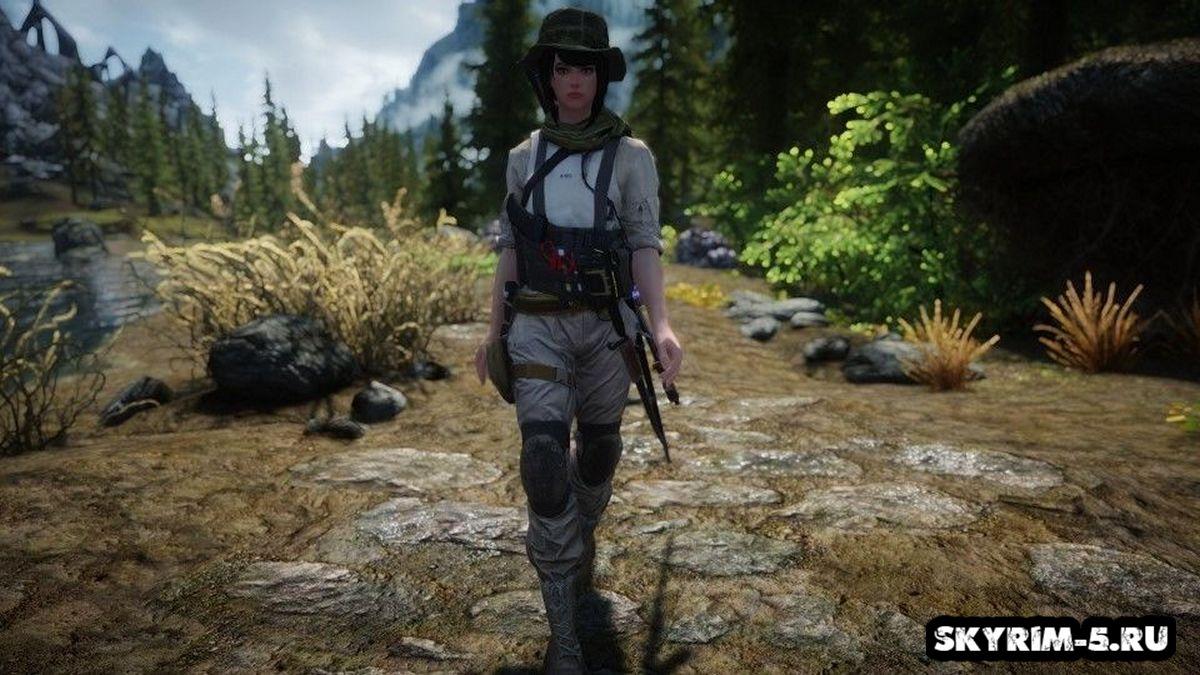 Одежда Ханны из Battlefield 4Моды Скайрим > Броня и одежда Скайрим