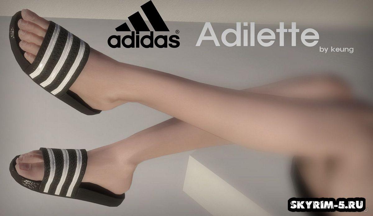 Шлепанцы Adidas АdiletteМоды Скайрим > Броня и одежда Скайрим