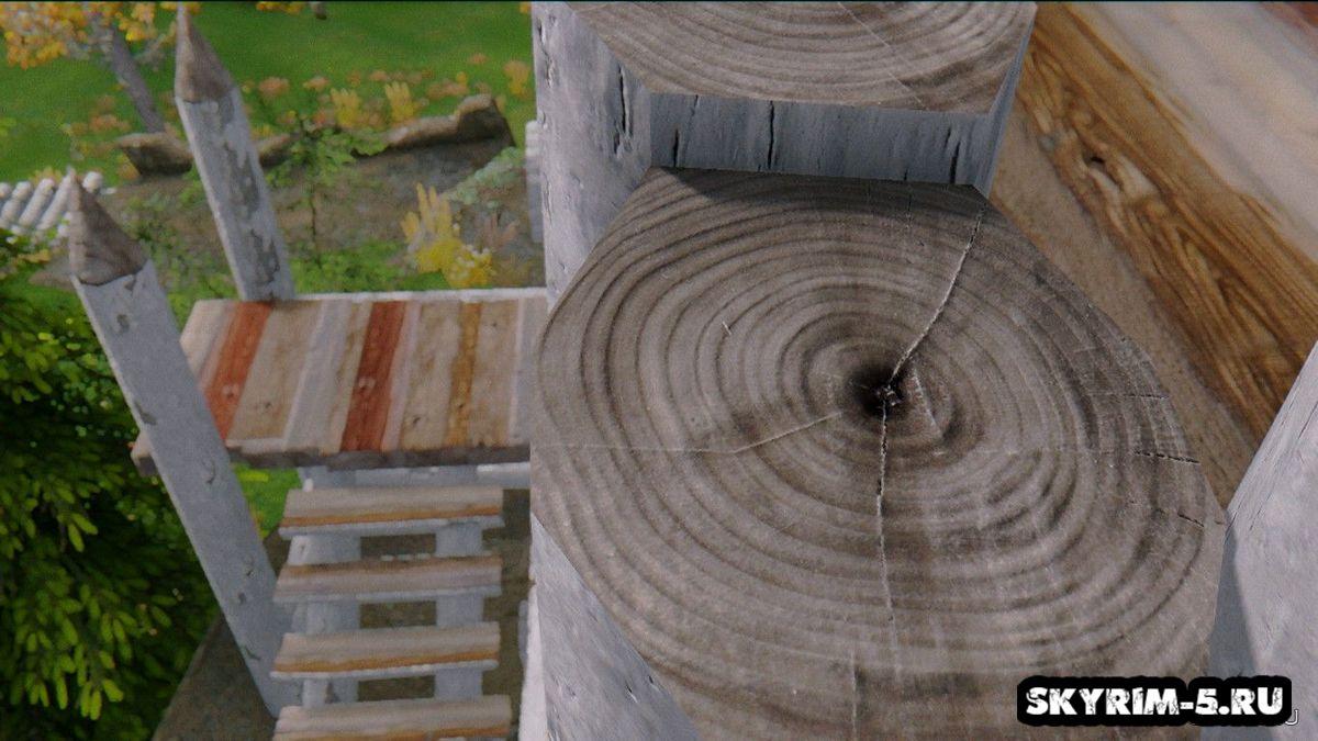 Деревянные укрепления - UHD -