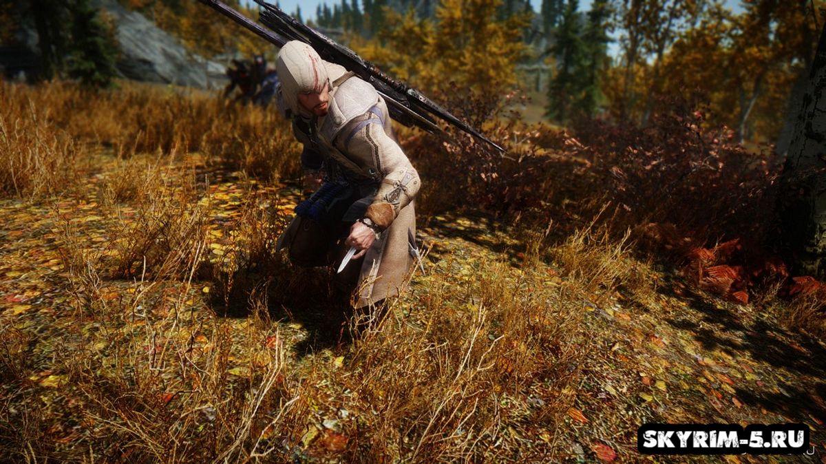 Роба Ахиллеса из Assassin's Creed 3Моды Скайрим > Броня и одежда Скайрим