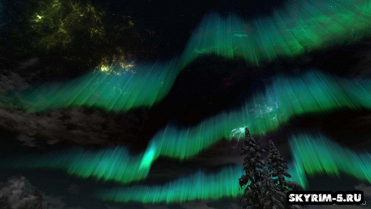 Улучшенное ночное небо - HD -