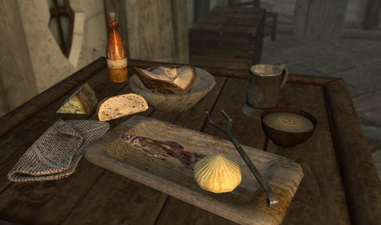 Чит коды Skyrim Скайрим на Еду и выпивку -