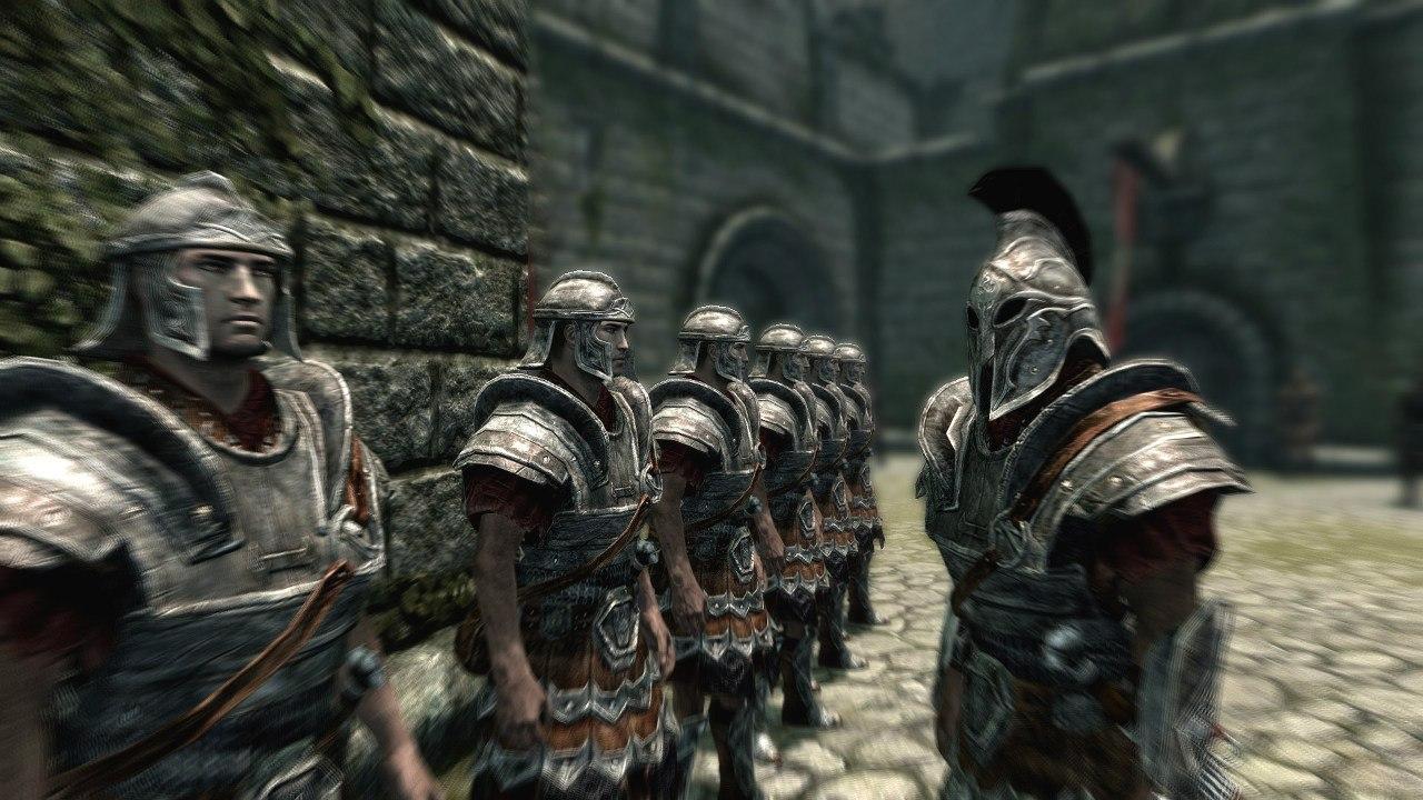 Имперская армия — прохождение Скайрим