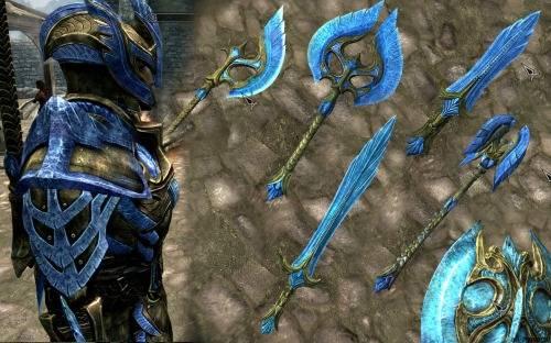 Наборы оружия Skyrim