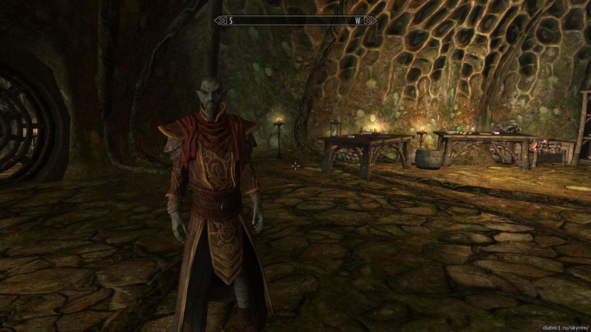 Посохи Азры (Azra's Staffs) прохождение Скайрим Dragonborn -