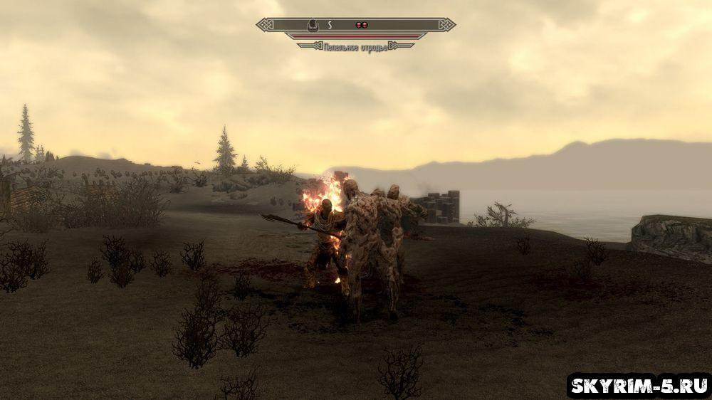 Марш мертвецов (March of the Dead) прохождение Скайрим Dragonborn -