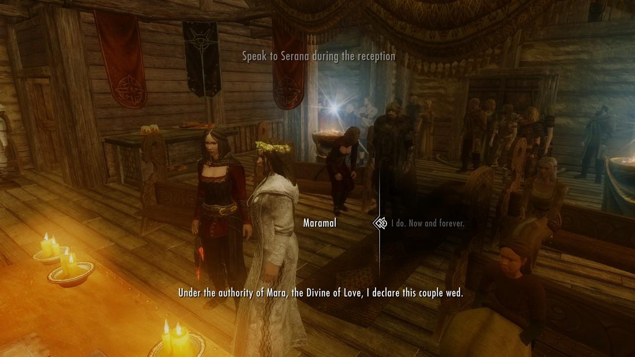 Как жениться или сыграть свадьбу в Скайрим Skyrim -