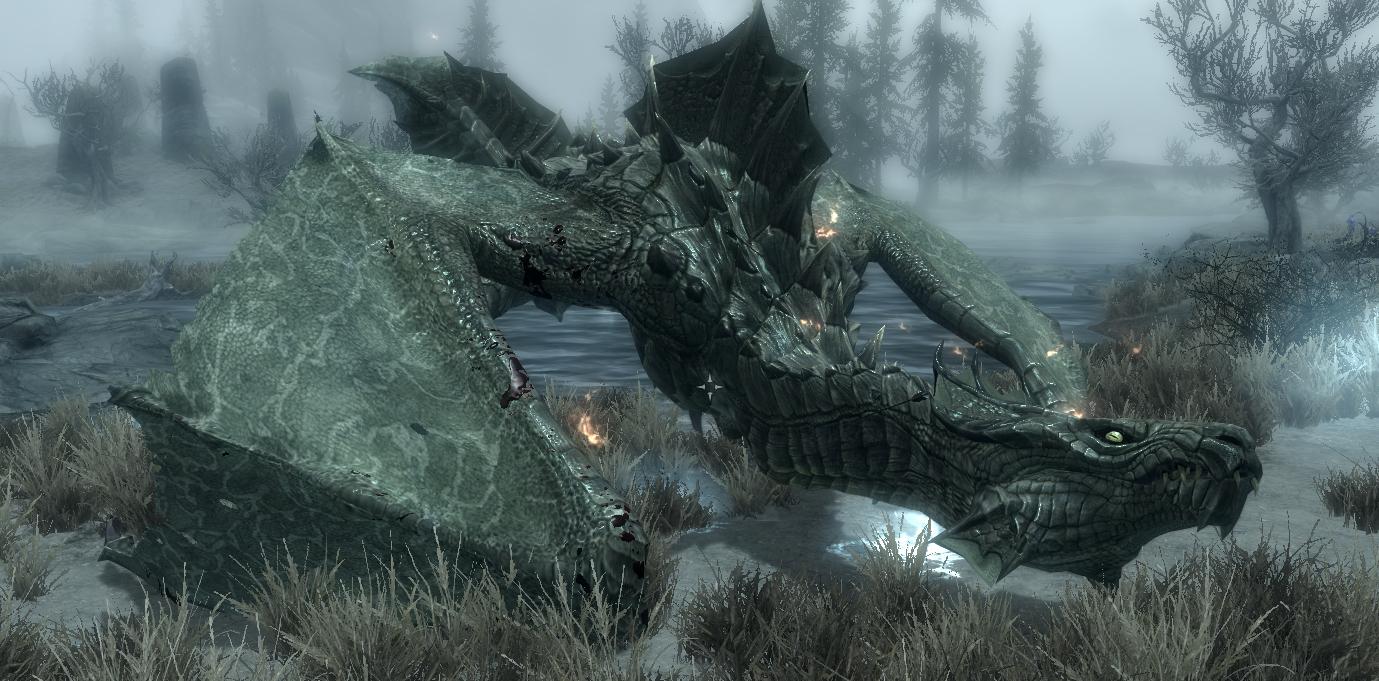 Драконы Скайрим -
