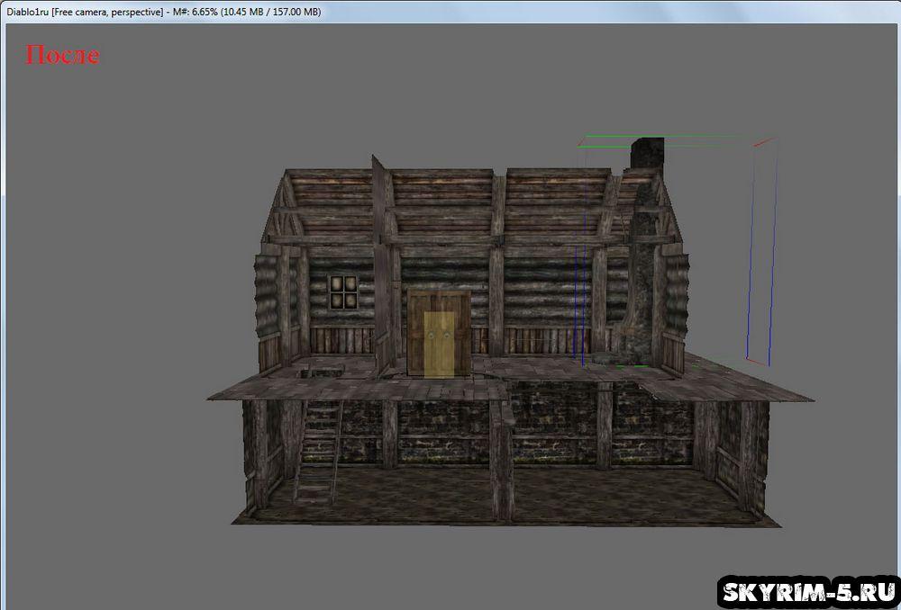Скайрим — Creation Kit: Делаем интерьер в доме -