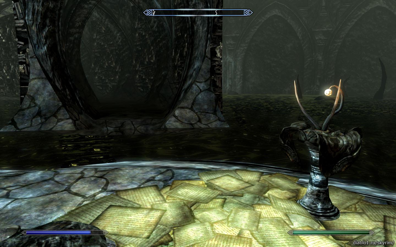 На вершине Апокрифа (At the Summit of Apocrypha) прохождение Скайрим Dragonborn -