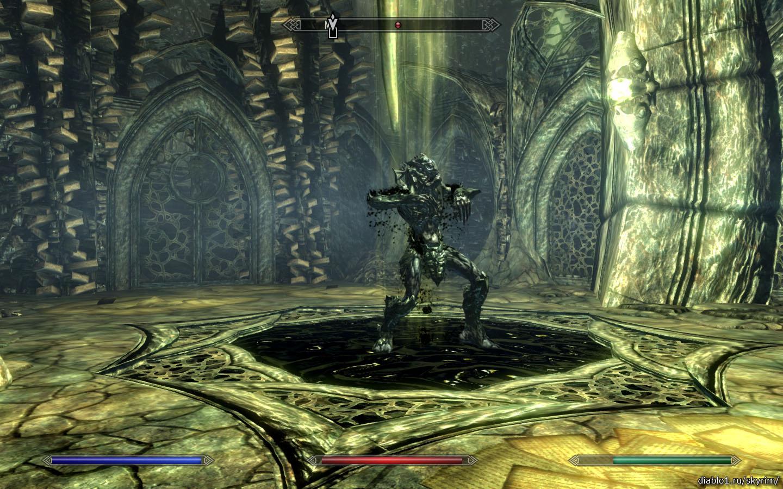 Храм Мирака (The Temple of Miraak) прохождение Скайрим Dragonborn -